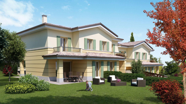 Villa A Tre Piani residenziale le colline - abitcoop